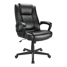 Realspace Hurston Bonded Leather High Back