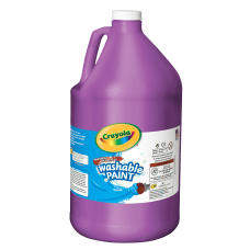 Crayola Washable Paint Violet Gallon