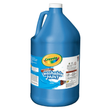 Crayola Washable Paint Blue Gallon