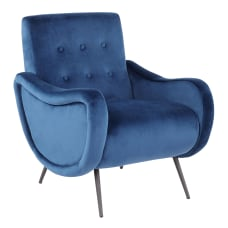LumiSource Rafael Lounge Chair BlackBlue