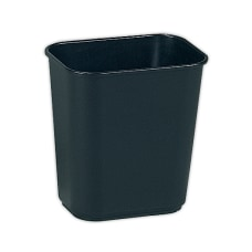 Rubbermaid Durable Rectangular Plastic Wastebasket 325