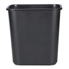 Rubbermaid Durable Polyethylene Wastebasket 7 Gallons
