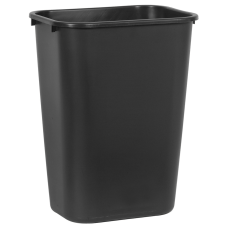 Rubbermaid Durable Rectangular LLDPE Wastebasket 1025
