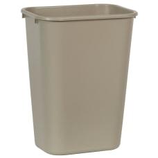 Rubbermaid Durable Polyethylene Wastebasket 10 14