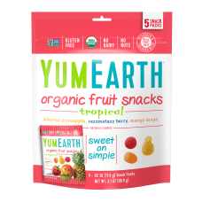 Yummy Earth Organic Tropical Fruit Snacks