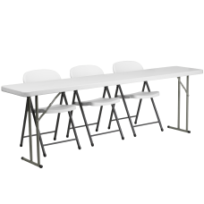 Flash Furniture Plastic Folding Training Table