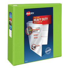 Avery Heavy Duty View Binder With