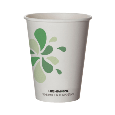 Highmark Compostable Hot Coffee Cups 12