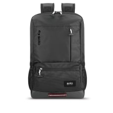 Solo Draft Laptop Backpack Black