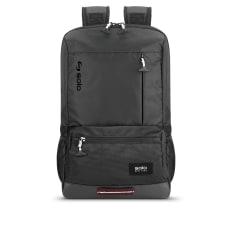 Solo Draft Laptop Backpack Black