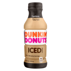 Dunkin Donuts Ready To Drink Iced