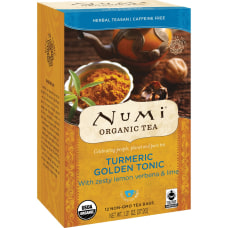 Numi Turmeric Organic Tea Dried Lime