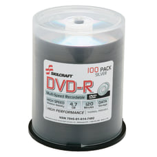 SKILCRAFT DVD R Discs Pack Of