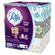 Puffs Ultra Soft 1 Ply Facial
