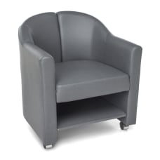 OFM Contour Series Mobile Club Chair