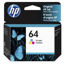 HP 64 Tricolor Original Ink Cartridge