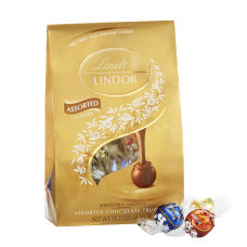 Lindor Chocolate Truffles Assorted Platinum Bag