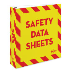 Avery Preprinted Safety Data Sheet 3