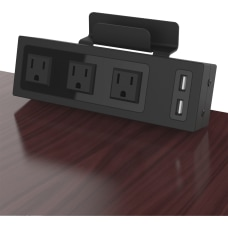 ChargeTech Desktop Outlets Power Strip 2