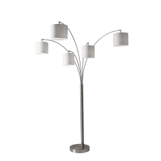 Adesso Trinity 5 Arm Arc Lamp