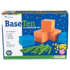 Learning Resources Base 10 Classroom Set