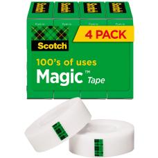 Scotch Magic Invisible Tape 34 x