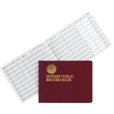 Dome Notary Public Record Book