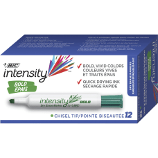 BIC Intensity Chisel Point Whiteboard Markers