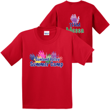 Custom Full Color Youth Cotton T