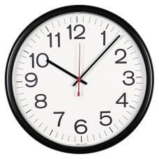 Universal IndoorOutdoor Clock 13 12 Black