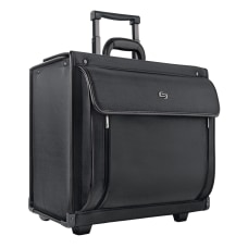 Solo Herald Rolling Catalog Case For