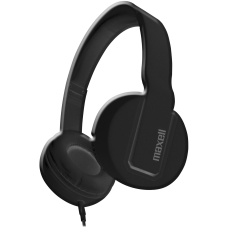 Maxell Solid2 Black Headphones Stereo Mini