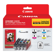 Canon PGI 5CLI 8PP 201 ChromaLife