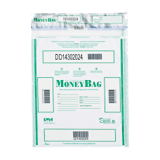 PM Company Tamper Evident Money Bags