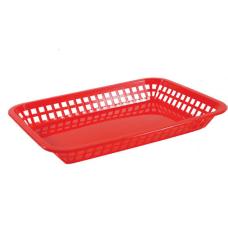 Tablecraft Rectangular Plastic Platter Baskets 1