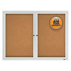 Quartet Enclosed Outdoor 2 Door Bulletin