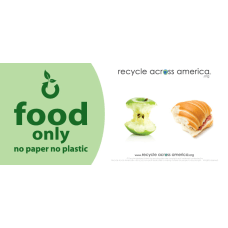 Recycle Across America Food Standardized Recycling
