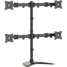 StarTechcom Quad Monitor Stand Crossbar Steel