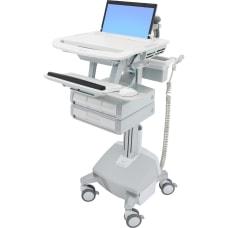 Ergotron StyleView Laptop Cart LiFe Powered