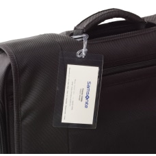 Samsonite ID Tags Self Laminating Clear