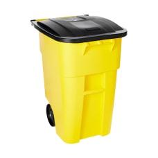 Rubbermaid Brute Square Plastic Rollout Container