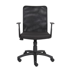Boss Budget Mesh Task Chair Black