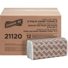 Genuine Joe C Fold 1 Ply