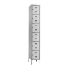 Safco 6 Box Single Column 2