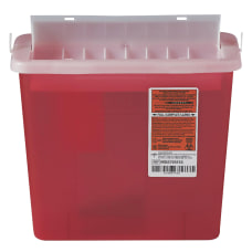 Medline Sharps Container For Patient Rooms