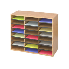 Safco Laminte Literature Organizer 24 Compartments