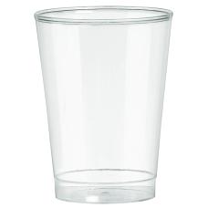 Amscan Plastic Tumblers 10 Oz Clear