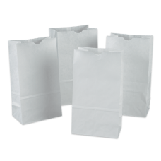 Pacon White Bags Pack Of 100