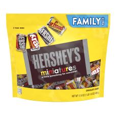Hersheys Miniatures Chocolate Candy Assortment 176