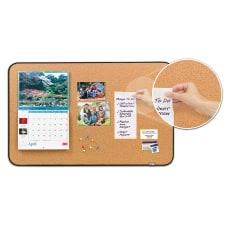 Post it Sticky Cork Bulletin Board